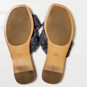 Frye Shoes - Frye | Hayley Frayed Slide Sandals | 8.5